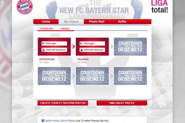 FC Bayern App Facebook