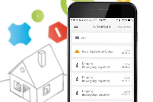 Gigaset elements Smart Home App Entwicklung