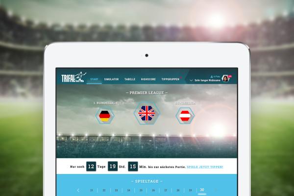 Fußball Ergebnis Simulator Trifal der plazz AG