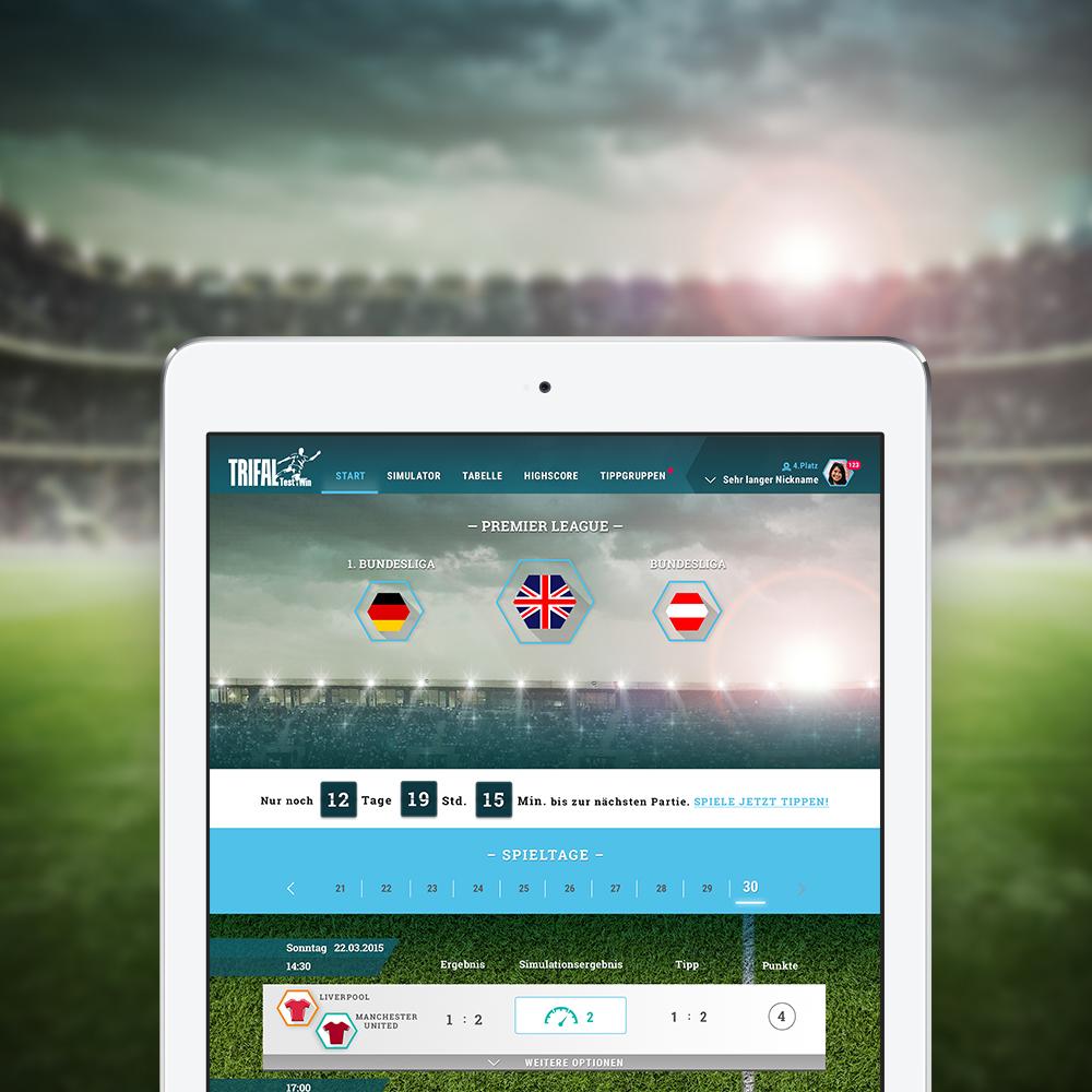 fussball ergebnis app