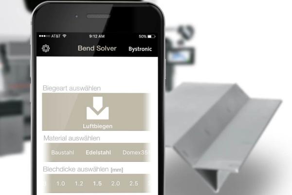 Bystronic Bend Solver Projekt der plazz AG