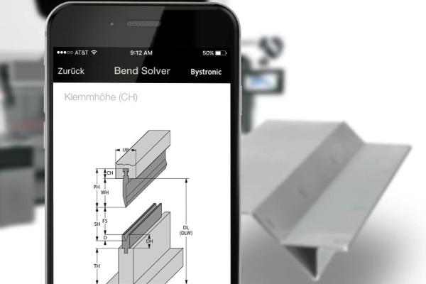 Bystronic Bend Solver App der plazz AG