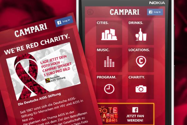 Campari App Projekt der plazz AG