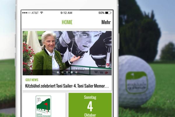 Exklusiv Golfen App Projekt der plazz AG