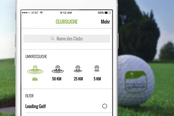 Golfclubsuche Exklusiv Golfen App plazz AG