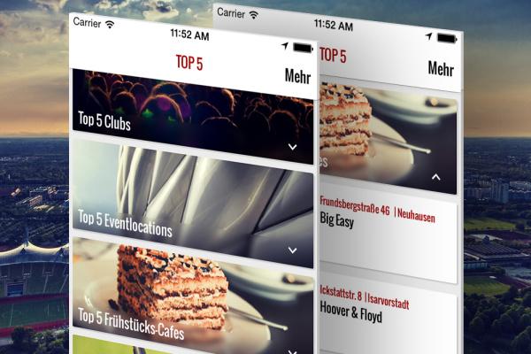 Top 5 Exklusiv München App der plazz AG