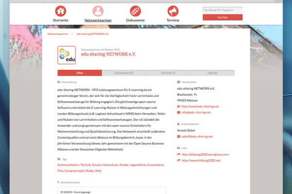 Medienkompetenz Netzwerk Profilansicht plazz AG