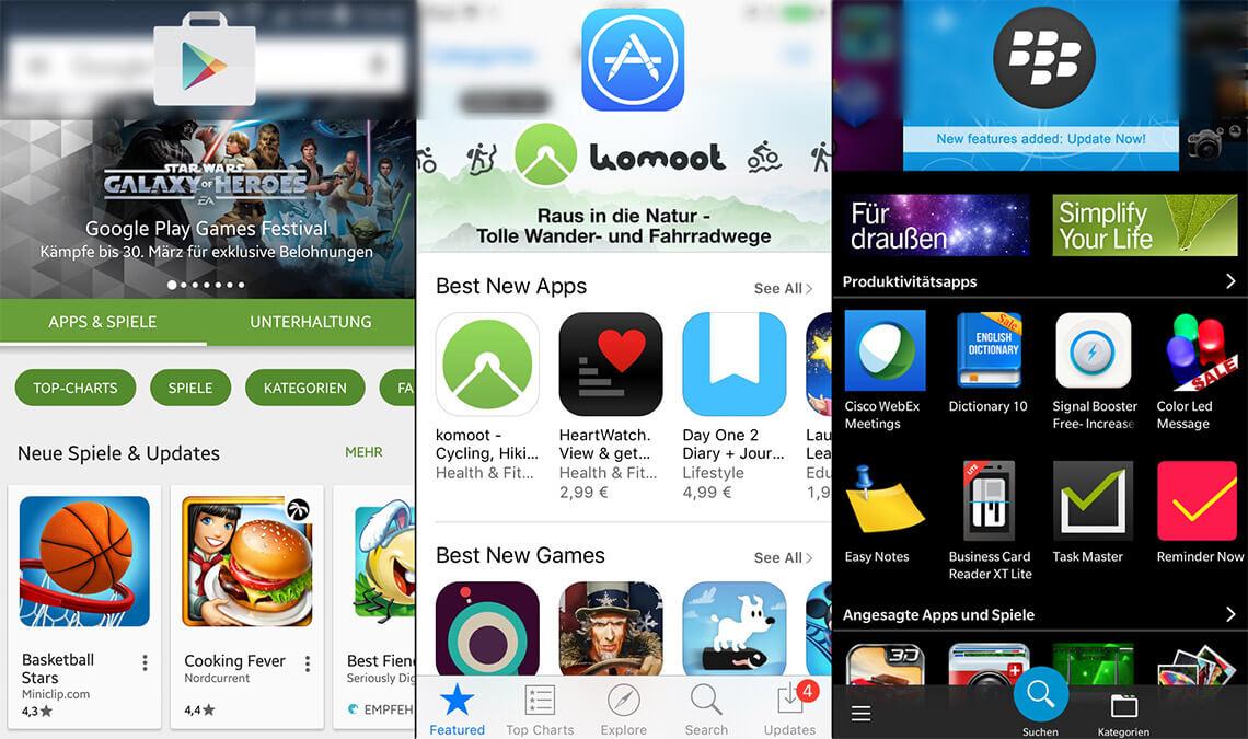 Eine Distribution der App über den App Store ist die gängigste Art der Veröffentlichung.