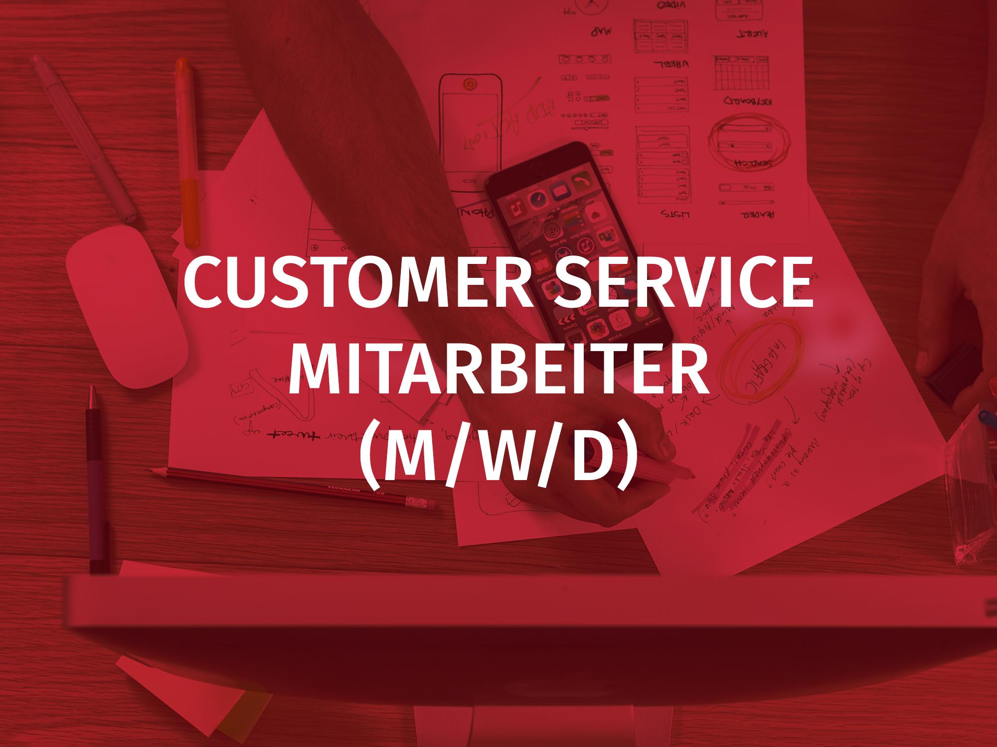 customer service mitarbeiter